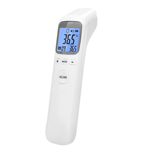 Infrared DIgital Touchless IR Ear Thermometer for Fever, Grey