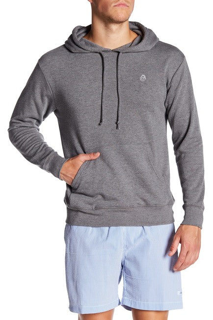 French Terry Hoodie - Charcoal Grey