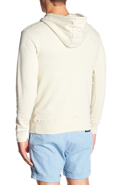 French Terry Hoodie - Cream