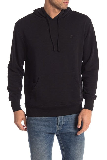 French Terry Hoodie - Black