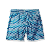 Jr. Swim - Kids Swim Trunks - Tiles Aqua