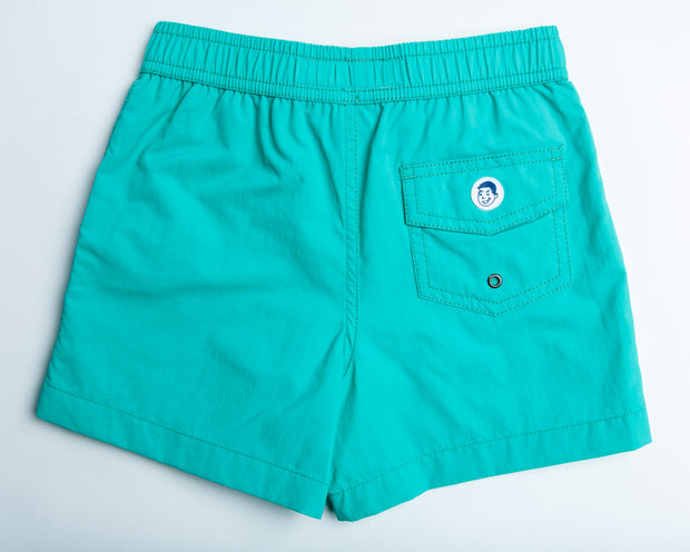 Jr. Swim - Kids Swim Trunks - Solid Yale Blue