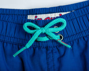 Jr Swim - Blue Kids Swim Trunks