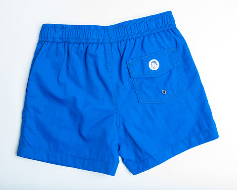 Jr Swim - Royal Blue Kids Swim Trunks