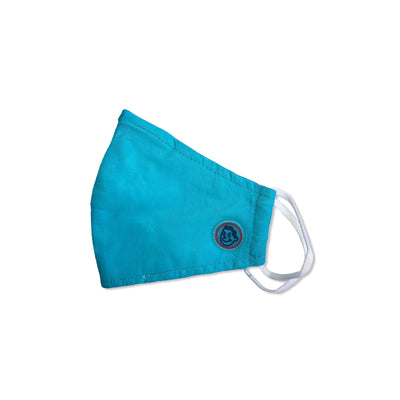 Kids Face Mask - Teal Blue