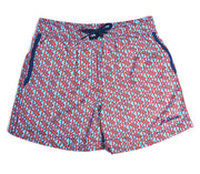 Jr. Swim - Kids Swim Trunks - Mosaic Turquoise and Black