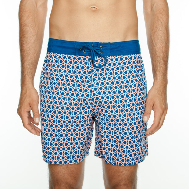 Octagon Board Short - Tangerine