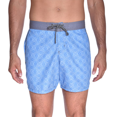 Maze Board Short - Light Blue