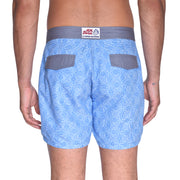 Light Blue Maze Board Short