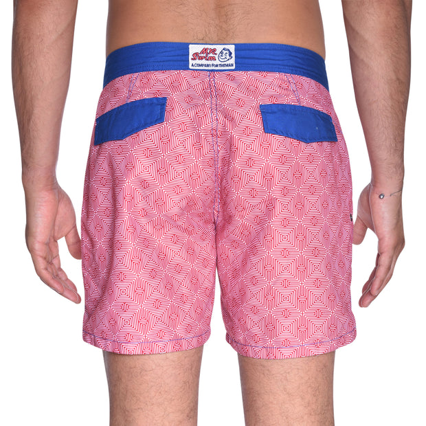 Maze Board Short - Red