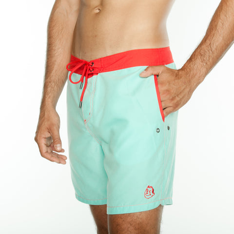 Turquoise Board Short
