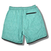 Palms 4-way Stretch Swim Trunks - Green
