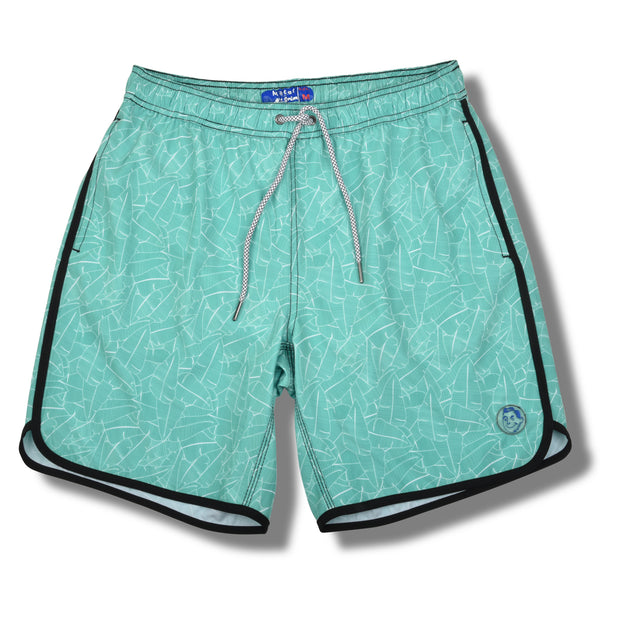 Green Palms Swim Trunks