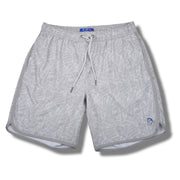 Grey Palms Swim Trunks