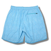 Light Blue Palms Swim Trunks