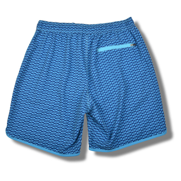 Dolphins 4-way Stretch Swim Trunks - Blue