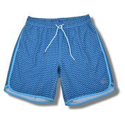 Blue Dolphins Swim Trunks