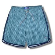 Dolphin 4-way Stretch Swim Trunks - Turquoise