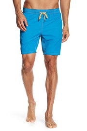 Solid Swim Trunks - Yale Blue