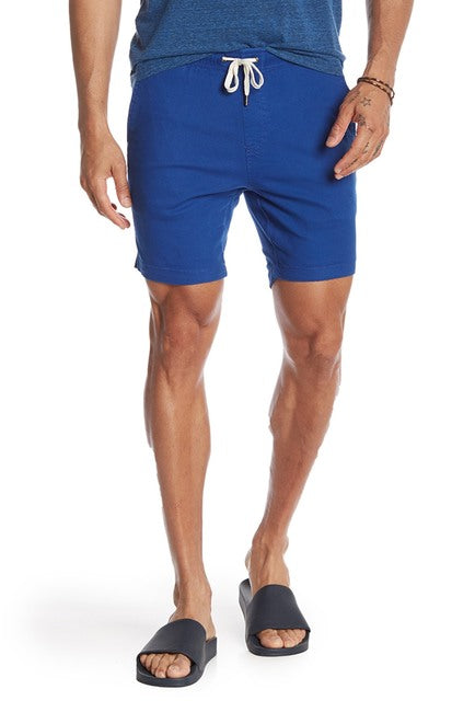 Stretch-Chino Short - Blue
