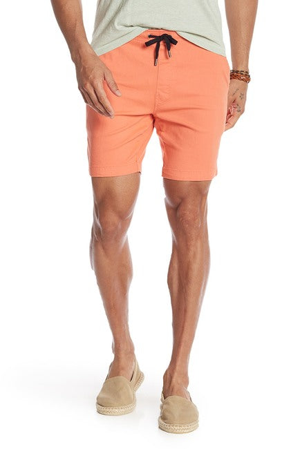 Stretch-Chino Short - Coral