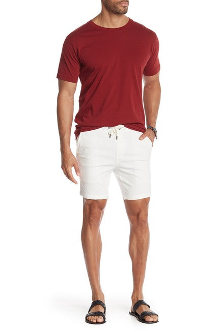 Stretch-Chino Short - Ecru
