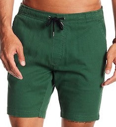 Stretch-Chino Short - Green
