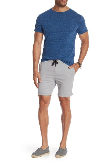 Stretch-Chino Short - Grey