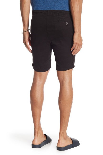 Stretch-Chino Short - Jet Black