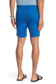 Stretch-Chino Short - Royal Blue