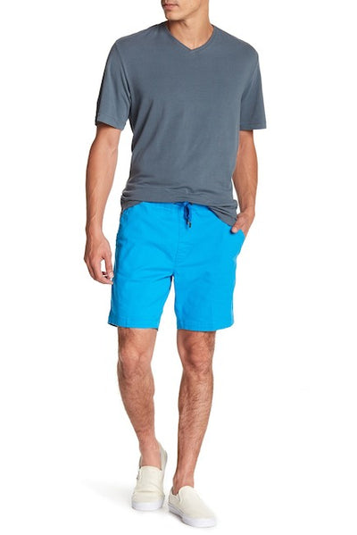 Turquoise Stretch-Chino Short