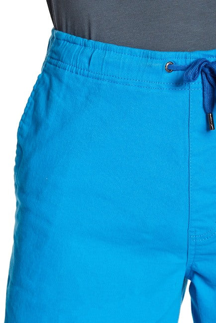 Stretch-Chino Short - Turquoise