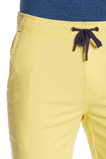 Stretch-Chino Short - Yellow