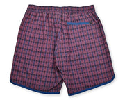 Sea Dragon Scales 4-Way Stretch Swim Trunks - Red
