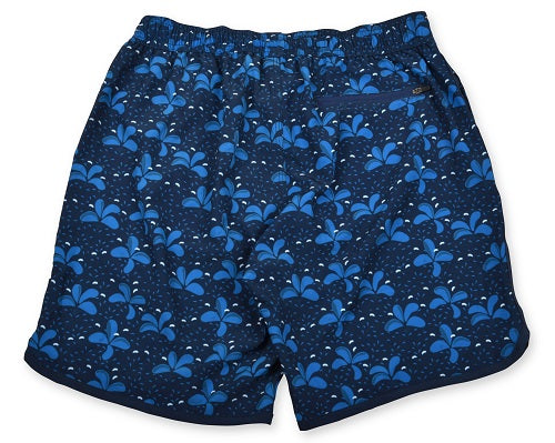 Splash 4-Way Stretch Swim Trunks - Dark Blue