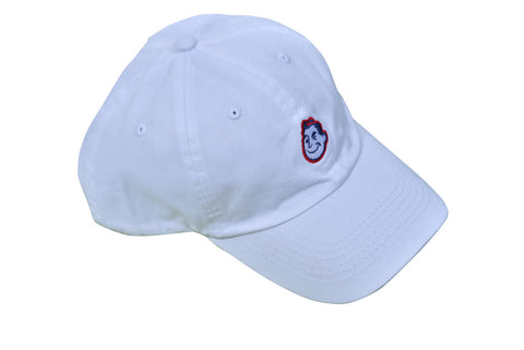 Mr. Swim Logo Cap - White
