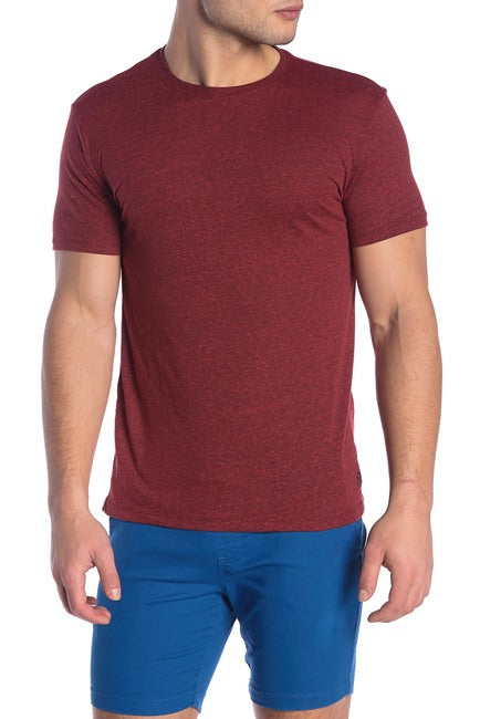 Cardinal Red Tri-Blend Crew Neck Tee