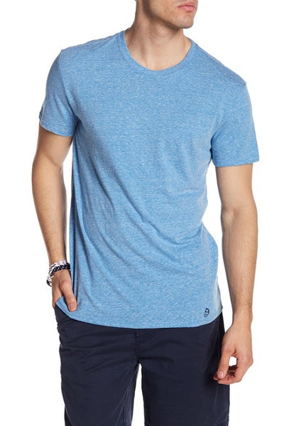 Tri-Blend Crew Neck Tee - Royal Blue