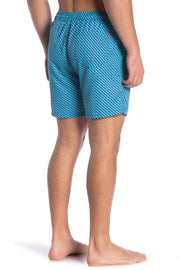Boxes Swim Trunks - Turquoise/Blue