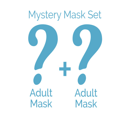 Adult Face Mask 2 Piece Set - Mystery Bundle