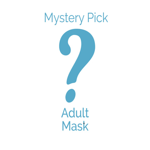 Adult Face Mask - Mystery Pick (one mask)