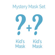 Kids Face Mask 2 Piece Set - Mystery Bundle