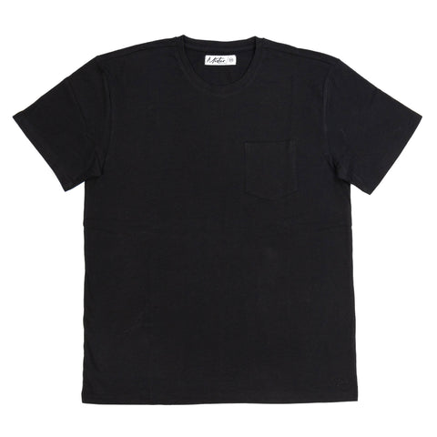 Short-Sleeve Pocket Tee, Black