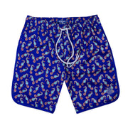 Seahorse 4-Way Stretch Swim Trunks - Purple