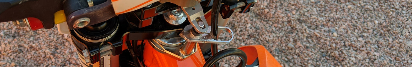 KTM Husqvarna throttle cable guide