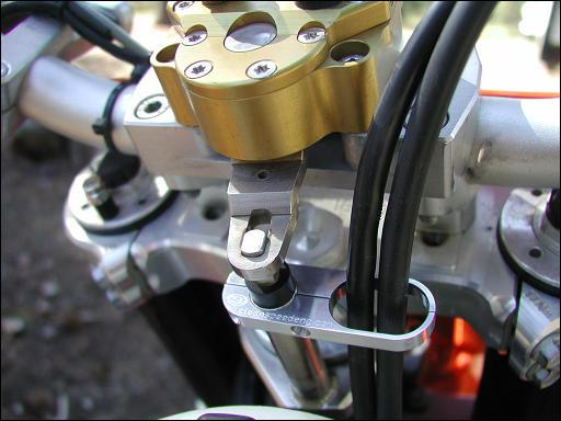 KTM Husqvarna Beta throttle cable guide scotts, gpr, PMB damper