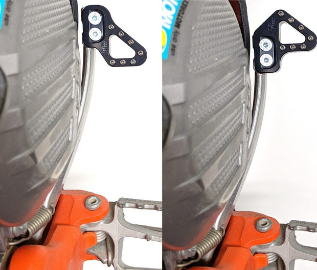 KTM Husqvarna brake pedal pad tip near close
