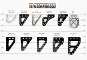 PG Stepped - KTM & Husqvarna Rear Brake Pedal Pad