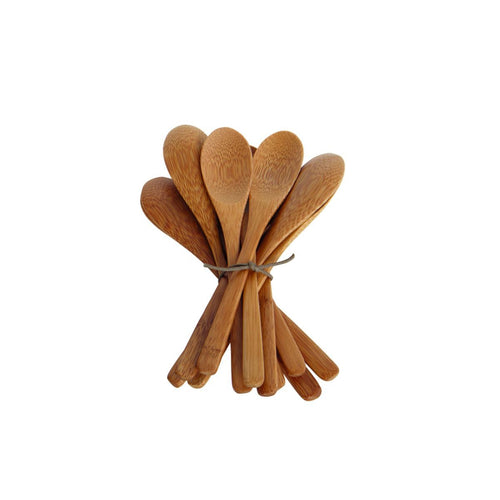 Set of 12 Bamboo Spoons