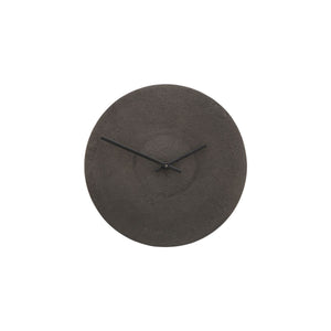 Antique Finish Metall Clock cutout